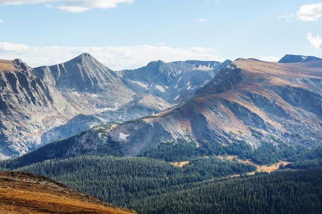 Montagnes rocheuses du colorado