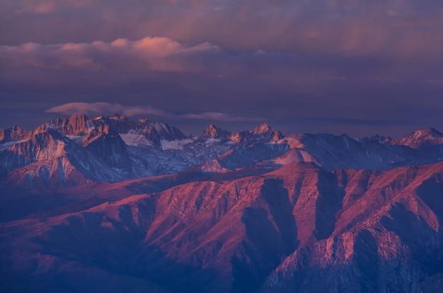 Montagnes de la sierra nevada