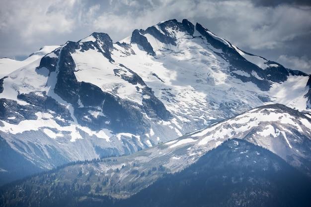 Montagnes whistler, colombie britannique, canada