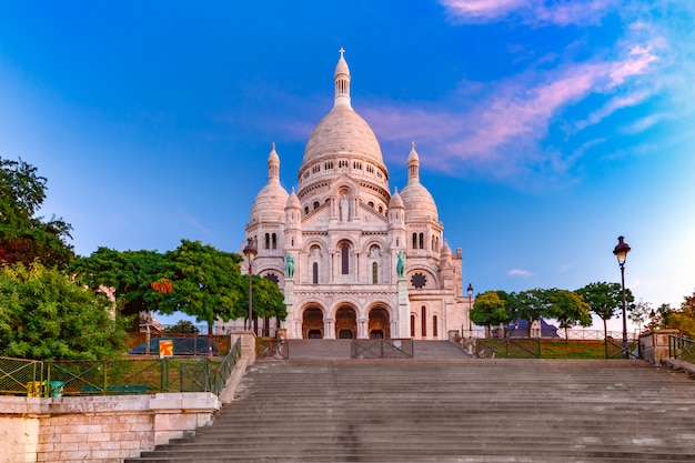 Montmartre à paris, france