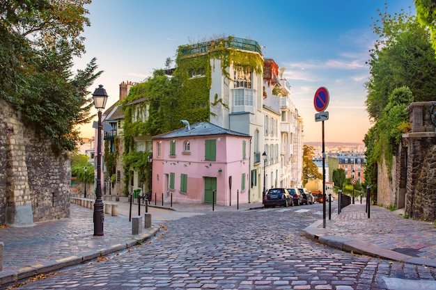 Montmartre à paris, france