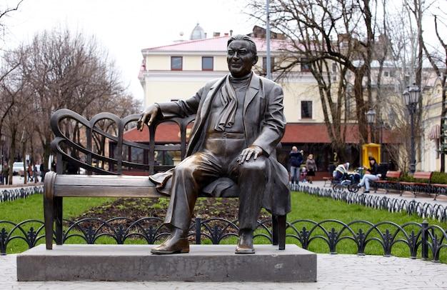 Monument en bronze, odessa