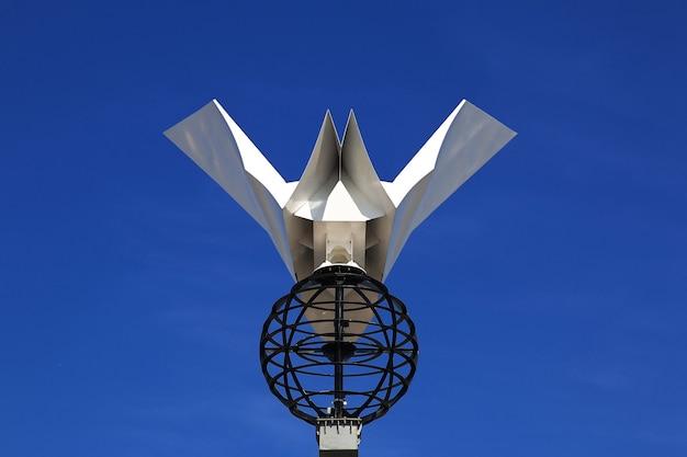 Le monument dans la ville de padang, indonésie