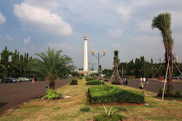 Monument de monas à jakarta, indonésie