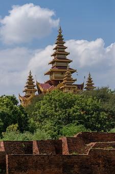 Monument de la pagode à bagan, myanmar