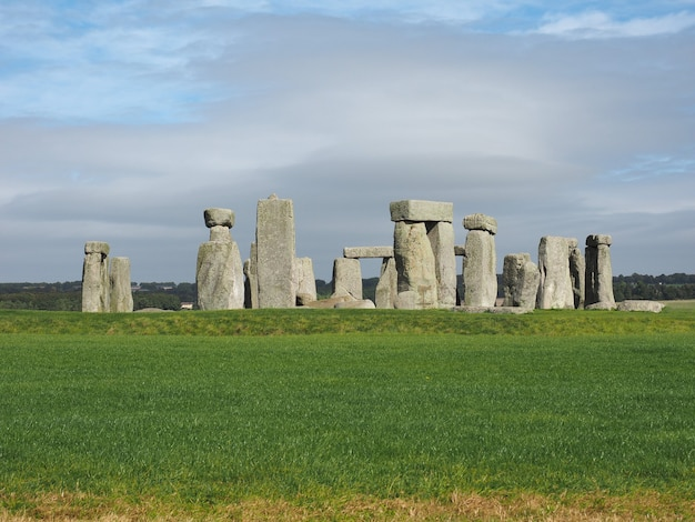 Monument de stonehenge à amesbury