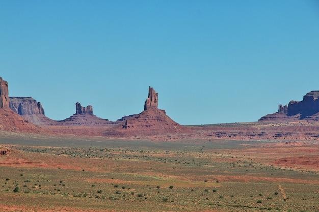 Monument valley dans l'utah et l'arizona, usa