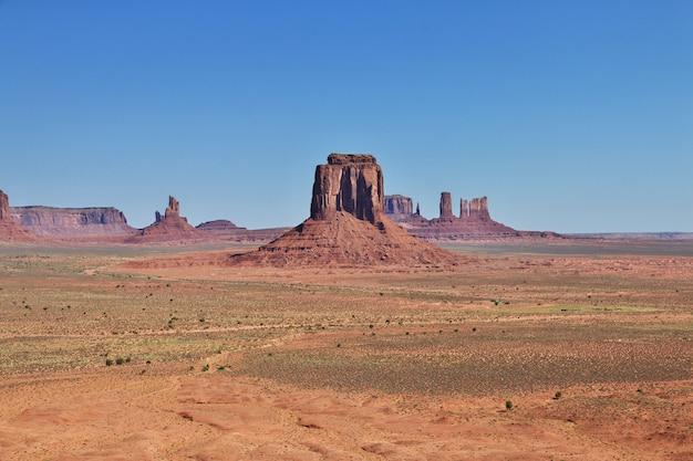 Monument valley dans l'utah et l'arizona