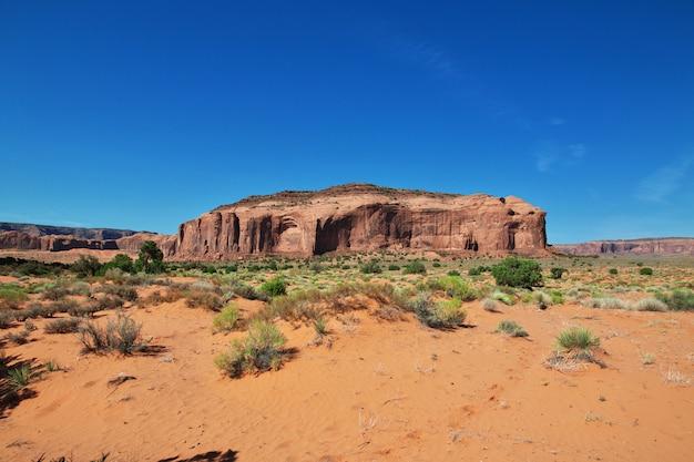 Monument valley en utah et en arizona