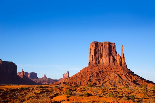 Monument valley west mitten butte (utah park)