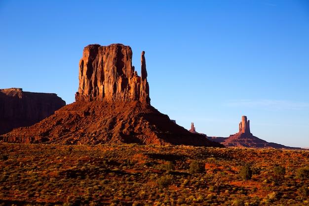 Monument valley west mitten butte (utah park)
