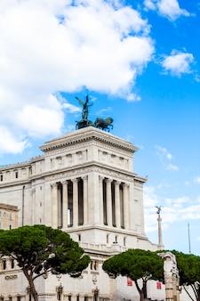 Monument à victor emmanuel ii (vittoriano) à rome