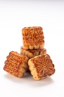 Mooncake de cuisine traditionnelle chinoise pour le festival de la mi-automne
