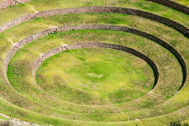 Moray inca ruines