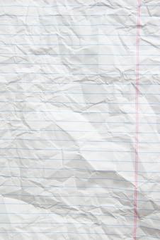 Morceau de fond de papier blanc