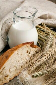 Morceau de pain au lait