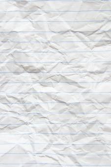 Morceau de papier blanc idéal pour les textures et les arrière-plans