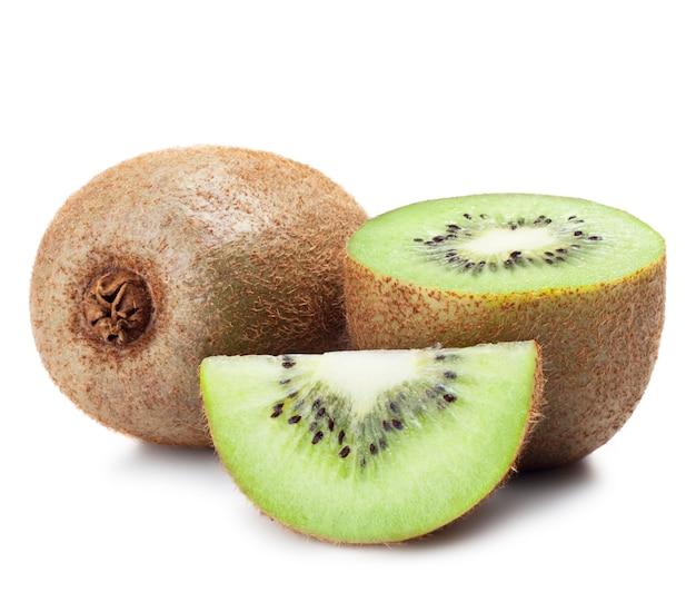 Morceaux frais de kiwi