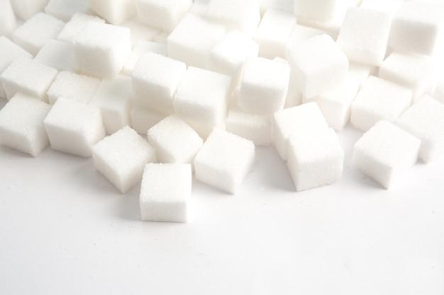 Morceaux de sucre empilés