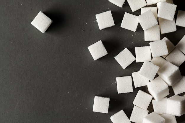 De morceaux de sucre