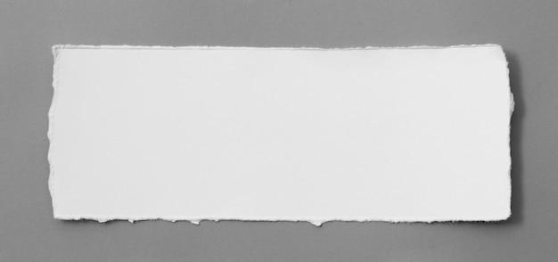Morceaux de texture de papier déchiré, copiez l'espace pour le texte.