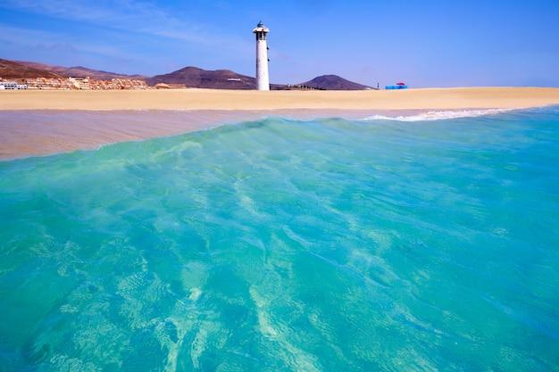 Morro jable matorral plage jandia à fuerteventura