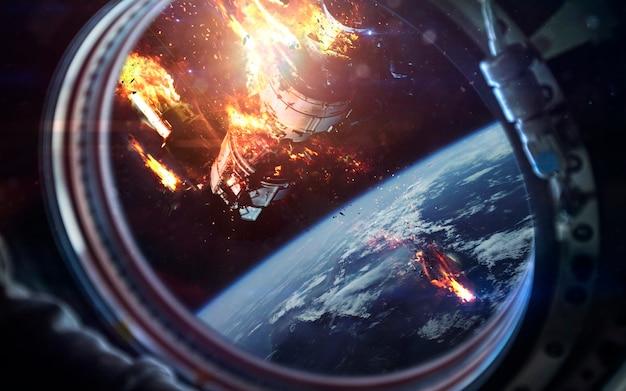 Mort de la station spatiale internationale