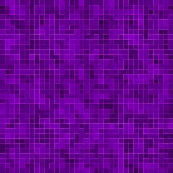 Mosaïque carrée violet vif pour fond texturé.