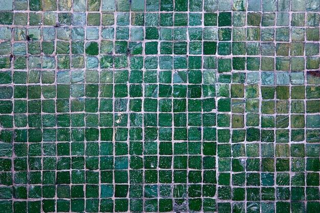 Mosaïque en pierre carrée vintage
