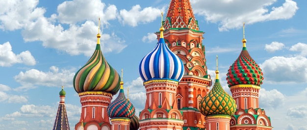 Moscou stbasil cathedral