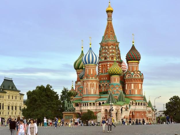 Moscourussia09012020 cathédrale st basilics un monument de l'architecture russe xvi siècle