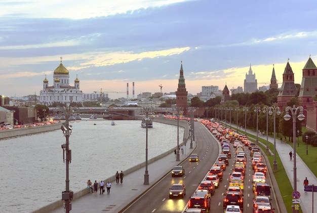 Moscourussie09012020 remblai du kremlin murs et tours du kremlin de moscou
