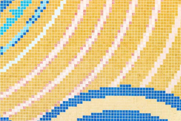 Mosiac textures de tuiles fond