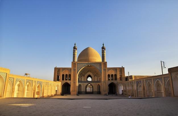 Mosquée agha bozorg, kashan, iran