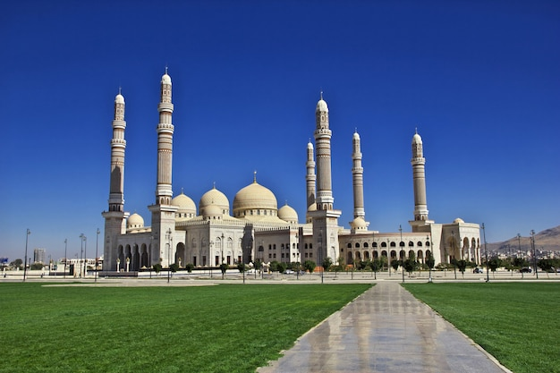 Mosquée al saleh, yémen