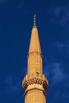La mosquée de beyrouth, ville du liban