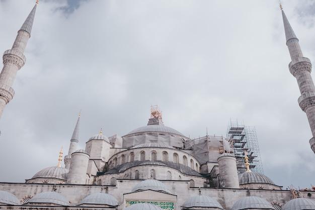 Mosquée bleue, explorez la turquie, visitez le concept d'istanbul.