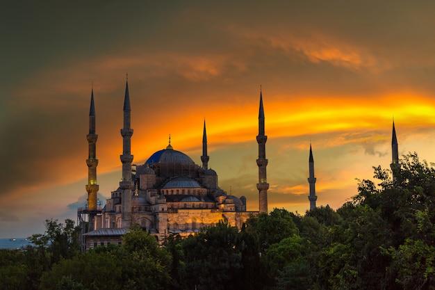 Mosquée bleue à istanbul