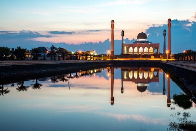 Mosquée centrale songkhla en thaïlande