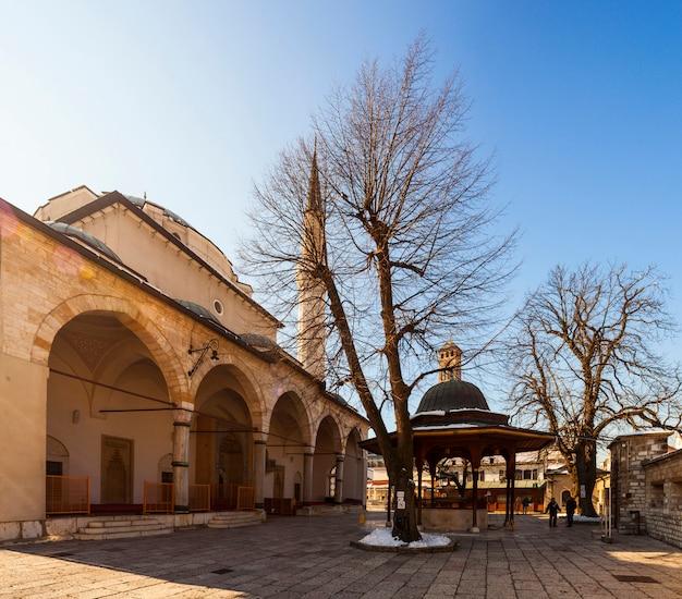 La mosquée gazi husrev-bey à sarajevo