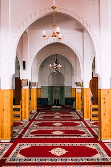 Mosquée de l'intérieur