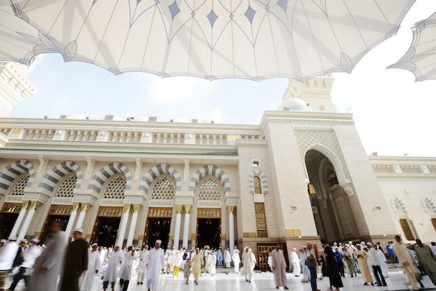 Mosquée islamique à madina