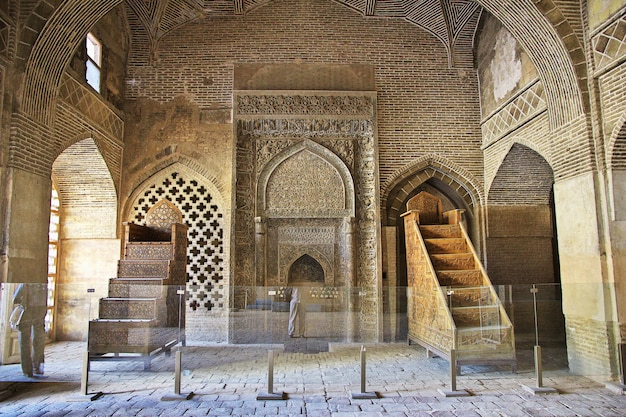 Mosquée jameh à ispahan, iran