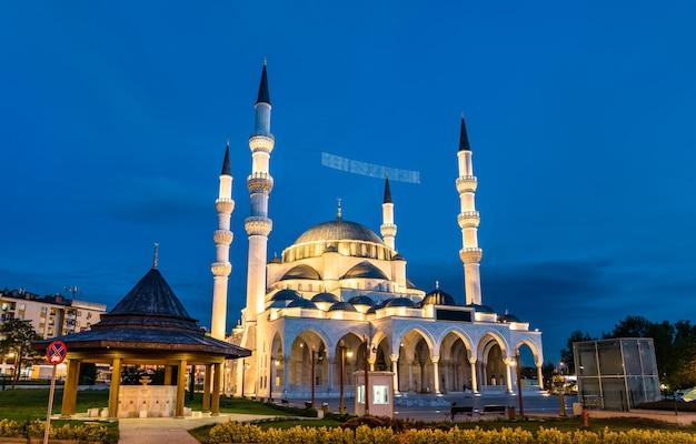 Mosquée melike hatun à ankara, la capitale de la turquie