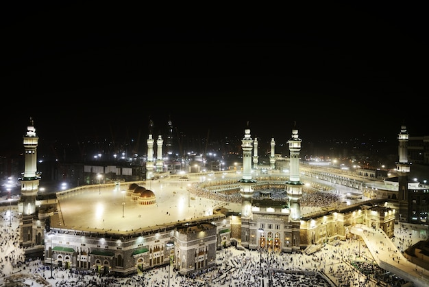 La mosquée sacrée de makkah kaaba