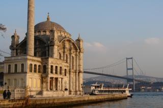 Mosquée de sultanahmet d'istanbul