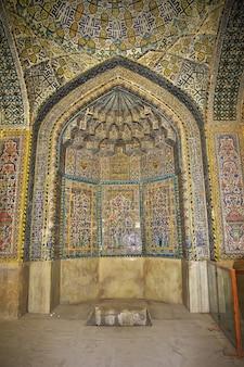 Mosquée vakil dans la ville de shiraz iran