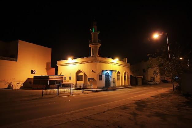 La mosquée vintage à manama bahreïn