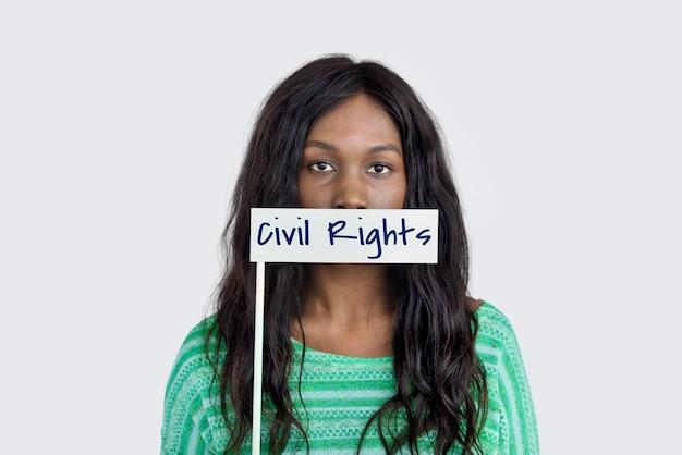 Mot des droits civiques les jeunes