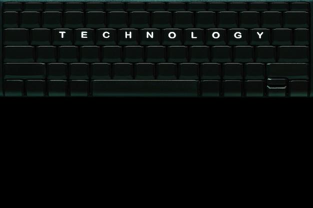 Le mot technologie